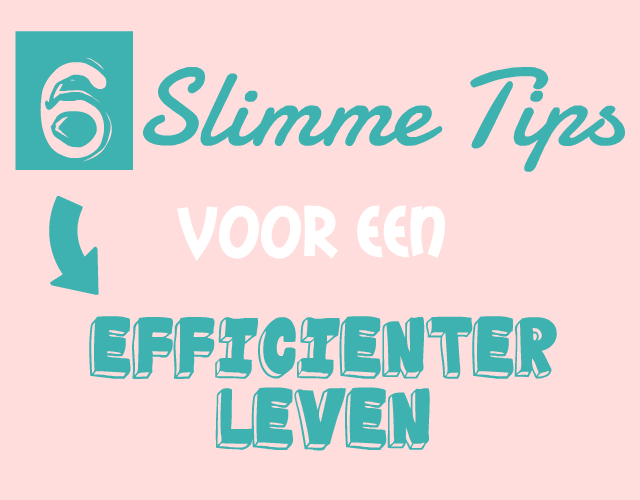 tips efficienter leven