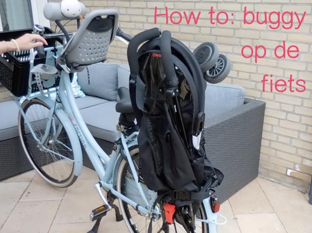 buggy op de fiets