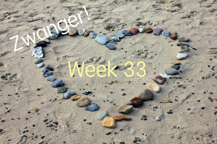 zwangerschapsupdate week 33