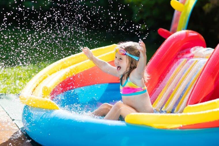 opblaasbaar zwembad voor kinderen
