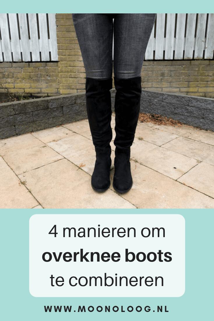 overknee boots combineren