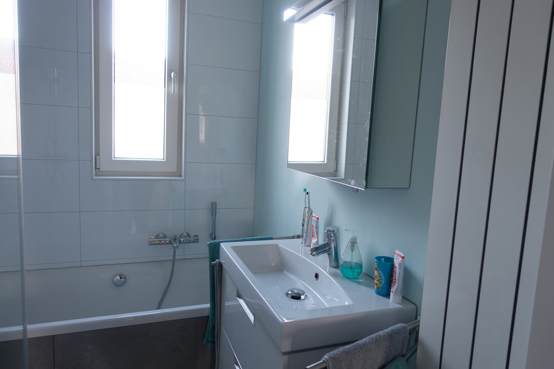 De verbouwing van onze badkamer * | Moonoloog