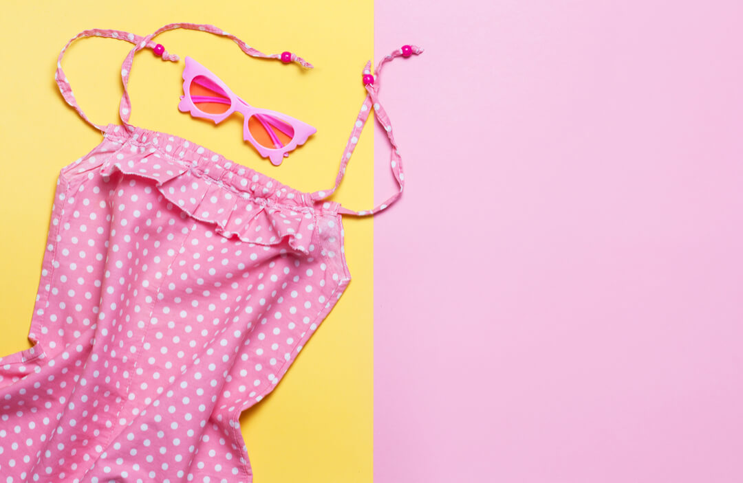 roze jurk voor festival