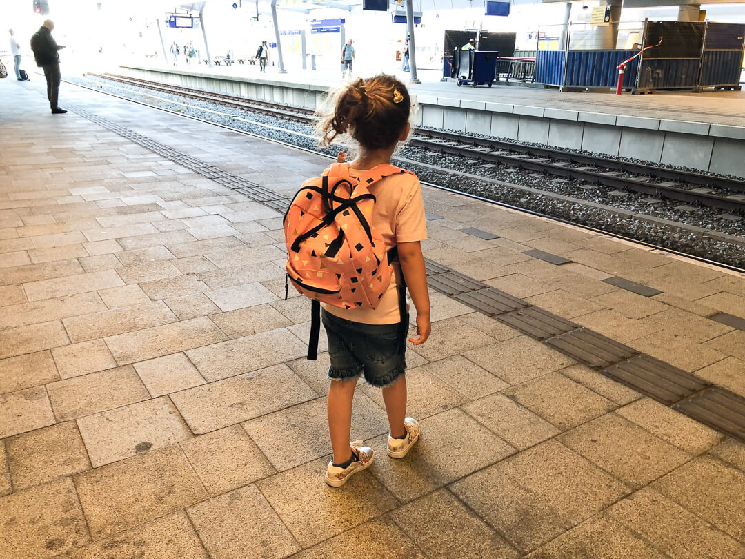 kinderen gratis met de trein