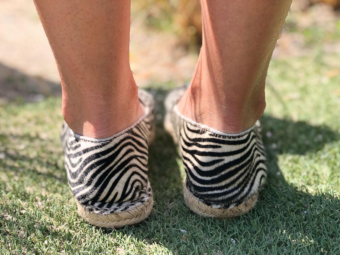 zebraprint espadrilles