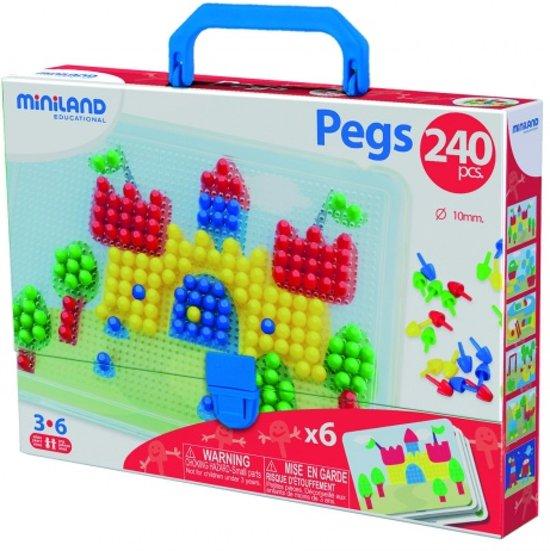 Miniland Mozaiek Pegs