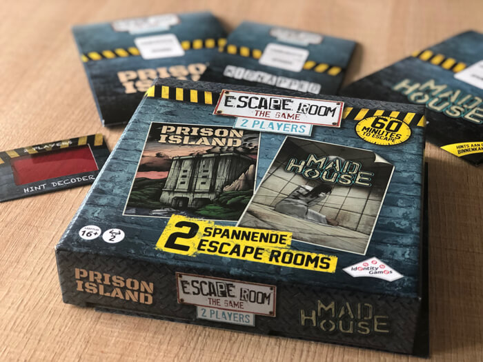 escape room the game 2 player