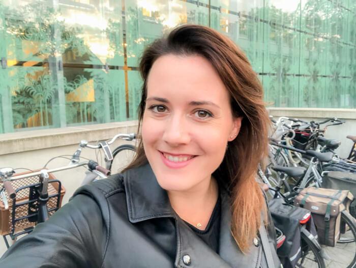 selfie voor parktheater eindhoven