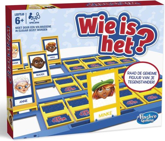 spel voor kleuters: Wie is het?
