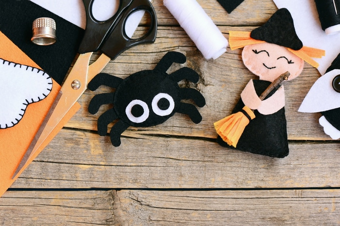knutselspullen voor eenvoudige knutseltips voor halloween
