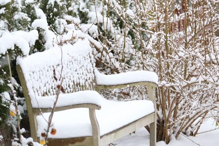 tuinmeubelen beschermen in de winter