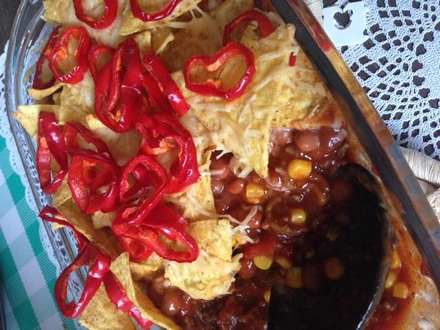 mexicaanse ovenschotel